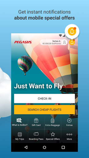 Pegasus Airlines: Cheap Flight Tickets Booking App  screenshots 3