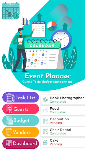 Event Planner - Guests, To-do, Budget Management 1.3 Screenshots 1