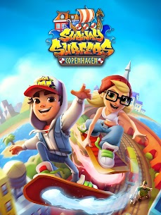 Subway Surfers MOD APK 2.20.1 (Unlimited money, keys, hoverboards and boosters) 9