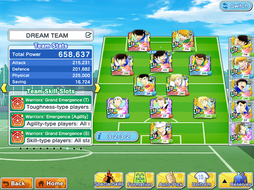 Captain Tsubasa (Flash Kicker): Dream Team  screenshots 11