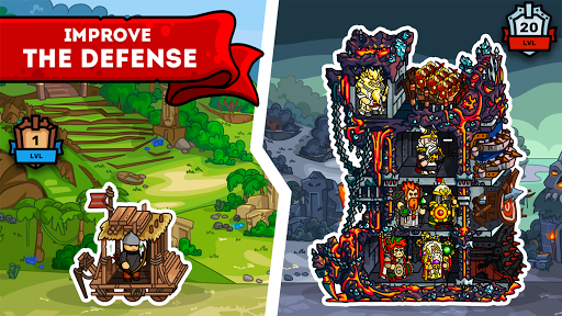 Towerlands - strategy of tower defense 1.11 screenshots 11