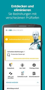 ESET Mobile Security & Antivirus Screenshot