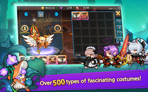 Raid the Dungeon : Idle RPG Heroes AFK or Tap Tap 1.10.2 screenshots 20