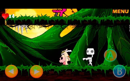 LaserCow Adventure Screenshot
