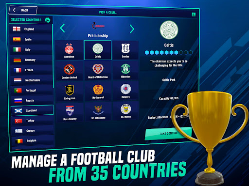 Soccer Manager 2022- FIFPRO Licensed Football Game screenshots 11