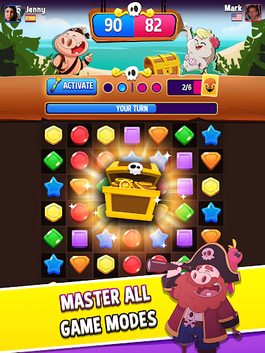 Match Masters - Online PVP Match 3 Puzzle Game 3.205 screenshots 12