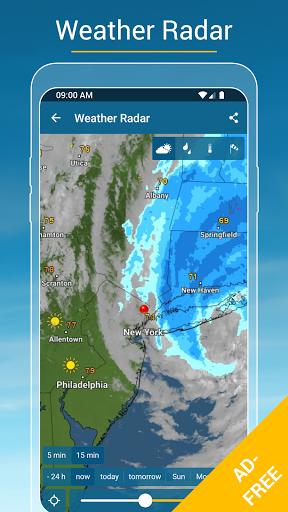 Weather & Radar USA - ad free screen 1