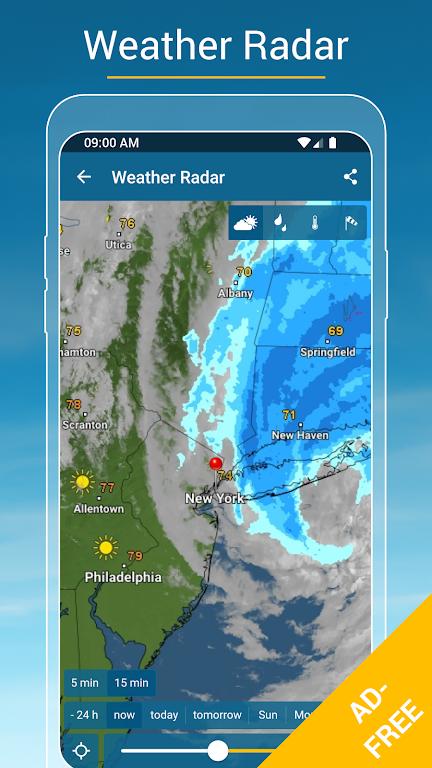 Weather & Radar USA - ad free poster 1