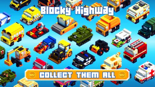 Blocky Highway: Traffic Racing  screenshots 3