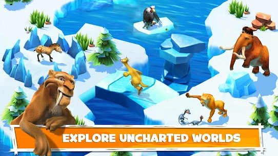 Download Ice Age Adventures Ice Age game for Android + mod + data 2