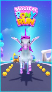 Magical Pony Run MOD (Unlimited Money) 1