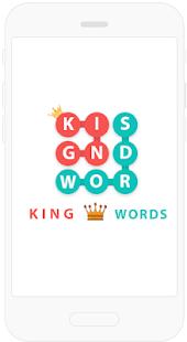 King Words - Chercher le mot 1.9.9z screenshots 1