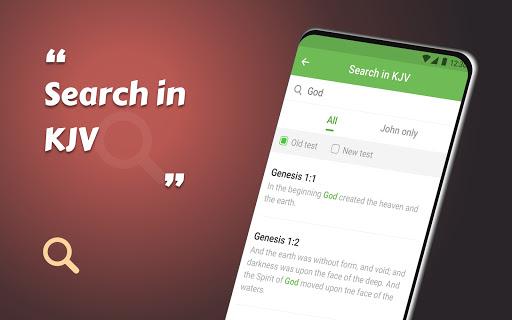 King James Bible (KJV) - Free Bible Verses + Audio android2mod screenshots 4