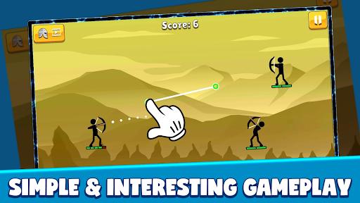 Code Triche Stickman Archer: Arrow Stick Fight (Astuce) APK MOD screenshots 3