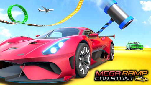 Mega Ramps Car Games - GT Racing Stunt Game apktreat screenshots 2