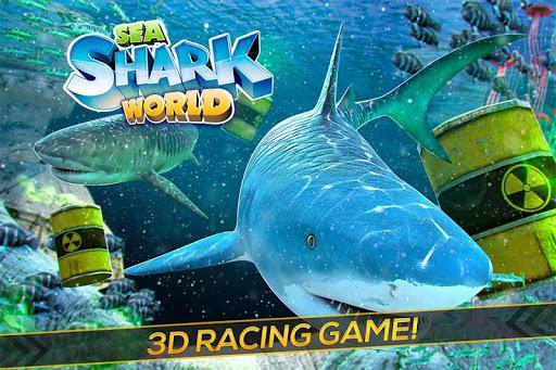 Sea of Sharks - Survival World of Wild Animals modiapk screenshots 1