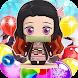 Nezuko Tanjiro Rescue Bubble Shooter