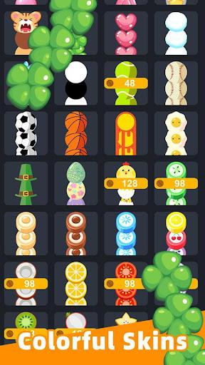 Slide And Crush - redesign snake game apktram screenshots 2