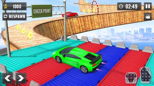 Crazy Car Driving Simulator: Impossible Sky Tracks 2.0 Screenshots 1