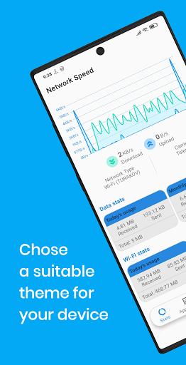 Net Speed Indicator: SpeedTest  screenshots 1