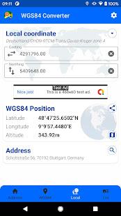 WGS84 Converter