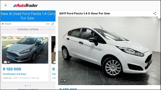 AutoTrader Screenshot