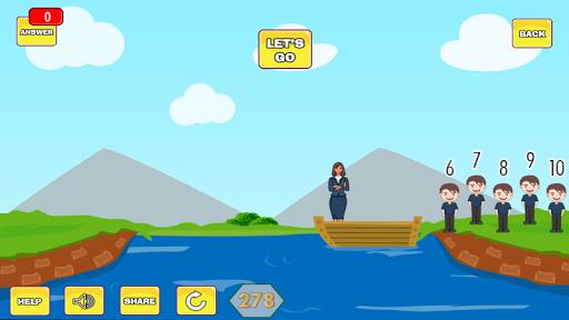 River Puzzle - IQ Test Mind 2.5 screenshots 3
