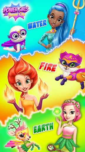 Power Girls Super City - Superhero Salon & Pets 7.0.50010 Screenshots 2