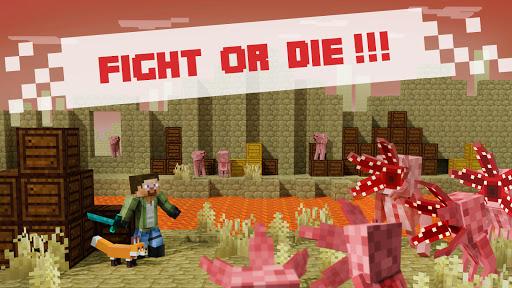 Battle Craft - 3D Pixel World  screenshots 17