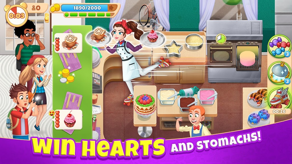 Cooking Diary®: Best Tasty Restaurant & Cafe Game  poster 1