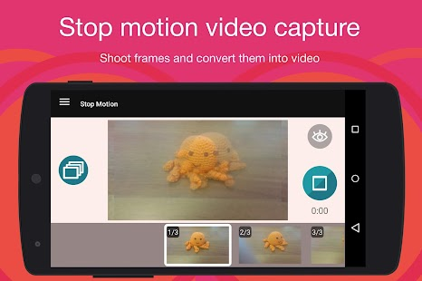 Stop-Motion-Cartoon Maker Screenshot