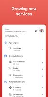 screenshot of Google Cloud Console