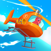 Dinosaur Helicopter – Games for kids
