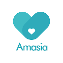 Love is borderless.Meet your true one on Amasia