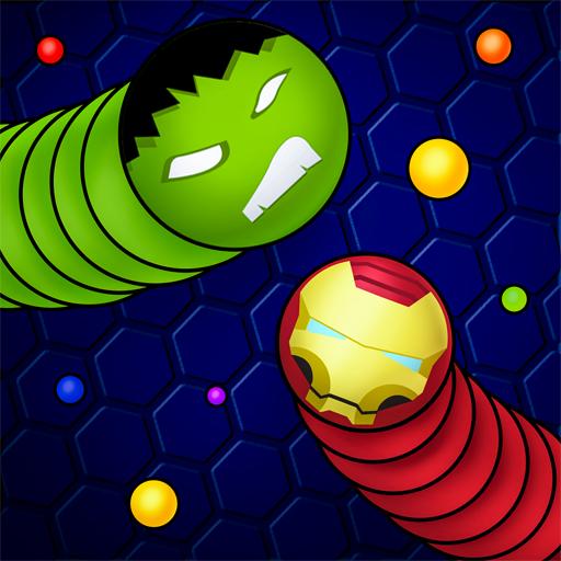 Snaky.io - Solucanlar ve Yılanlar Oyunları PvP