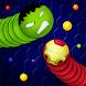 Snaky.io - ワームゾーン スネーク スリザリオ PvP. ヘビとワームの ゲーム