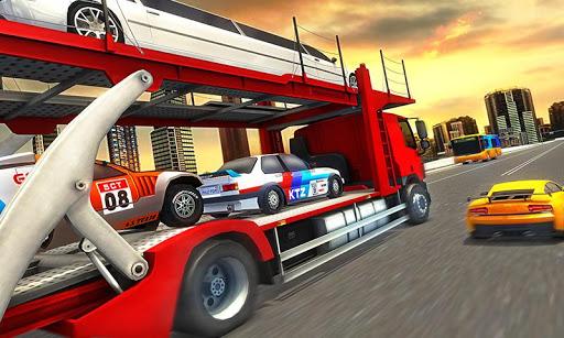 Vehicle Transporter Trailer Truck Game  screenshots 3