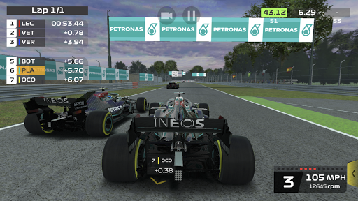 F1 Mobile Racing screenshots 2