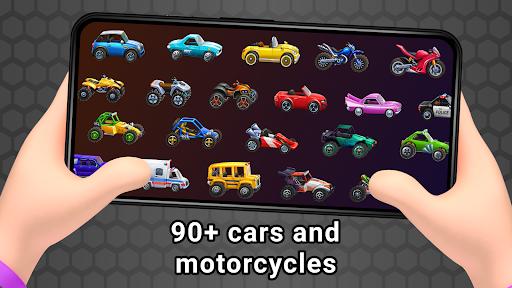 Mad car Racing on hilltop apktreat screenshots 2