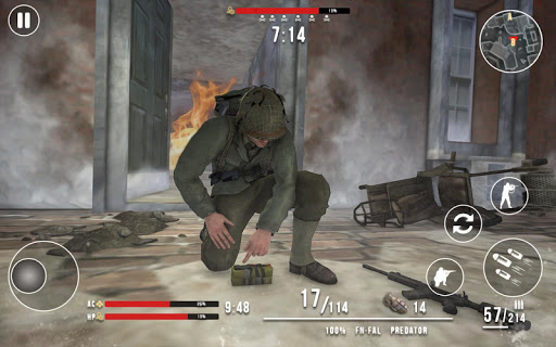 World War 2 Winter Heroes - Free Shooting Games 1.2.2 screenshots 17