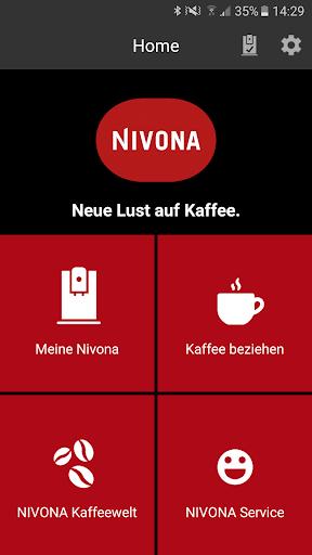 Nivona App  screenshots 1