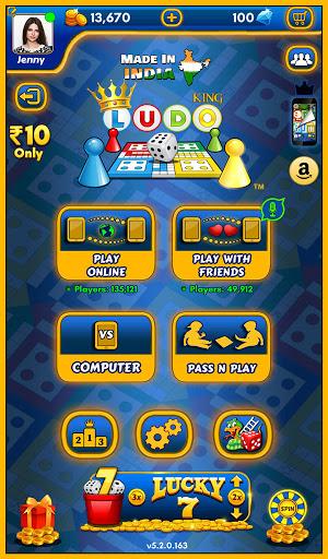Ludo Kingu2122 - Parchisi Dice Board Game 5.8.0.174 screenshots 18