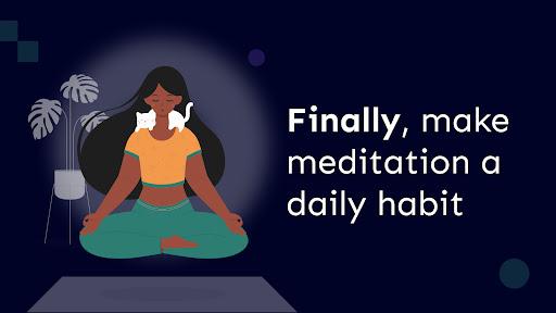Atom - Build a Habit of Meditation (For Beginners)  screenshots 1