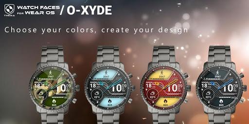 O-Xyde Watch Face Apkfinish screenshots 2