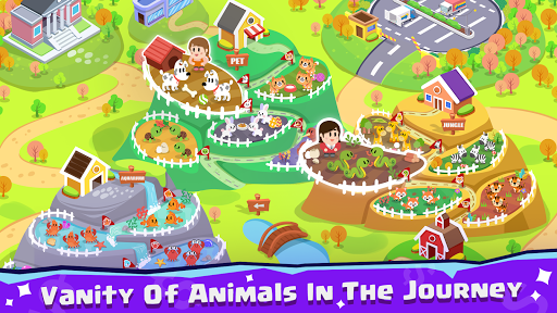 Pet Idle Miner: Farm Tycoon u2013 Take Care of Animals apkpoly screenshots 2