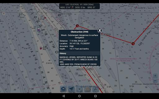 Marine Ways - Free Nautical Charts 1.24 Screenshots 12