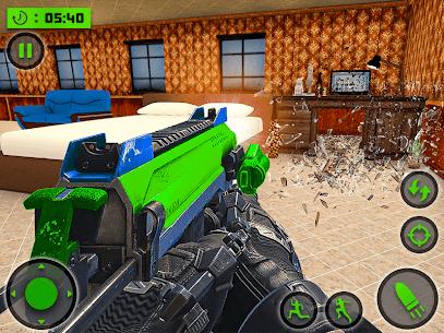House Destruction Smash Destroy FPS Shooting House Mod Apk (God Mode) 6