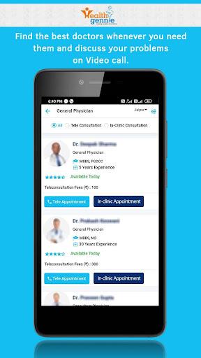 Health Gennie - Healthcare at Home 1.5.2 Screenshots 3