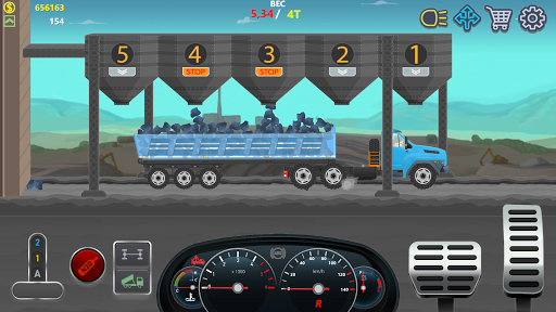 Trucker Real Wheels - Simulator apkpoly screenshots 5
