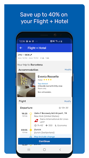 eDreams: Book cheap flights and travel deals modavailable screenshots 3